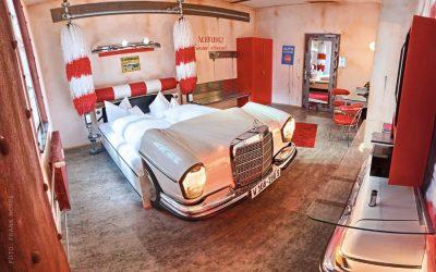Historisk tur i hjulspor af Audi………