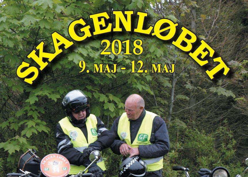 Program til Skagenløb 2018 (ændring i pausested)