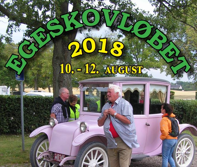 Program Egeskovløbet 2018